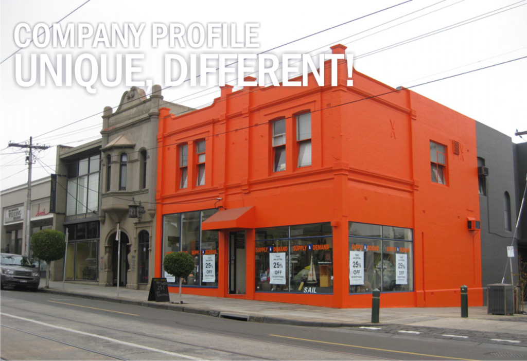 Company Profile: Be Different